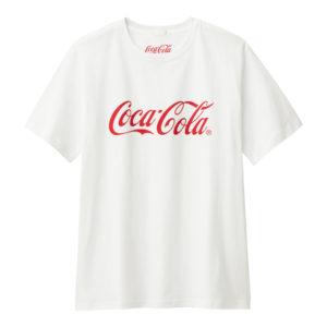 グラフィックT(半袖)Coca-Cola1ホワイト