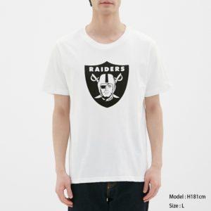 グラフィックT(半袖)NFL4ホワイト