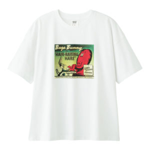 レディースビッグT(5分袖)Looney Tunes1ホワイト