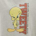 レディースビッグT(5分袖)Looney Tunes1ロゴ