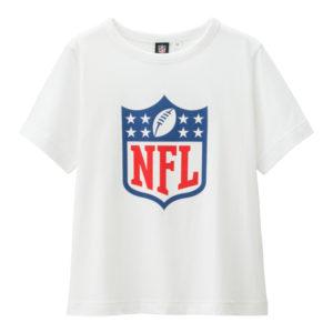 BOYSグラフィックT(半袖)NFL1ホワイト