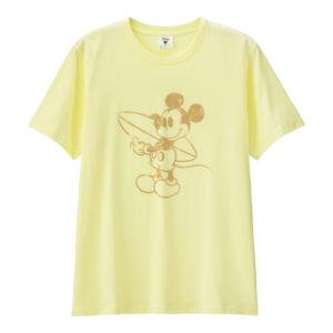 グラフィックT(半袖)Disney1クリーム