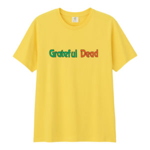 グラフィックT(半袖)GratefulDead3イエロー