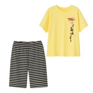 BOYSラウンジセット(半袖)PIXAR1イエロー