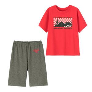BOYSラウンジセット(半袖)PIXAR2レッド